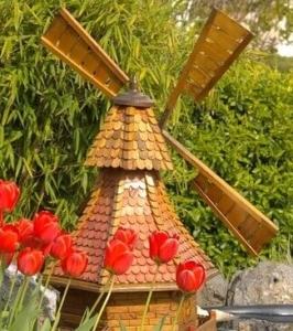 Windmühle Garten, Windmühlen für den Garten, Windmühle kaufen, Windmühle für den Garten, Holzwindmühlen für den Garten, Windmühle Gartendeko