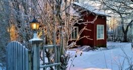 Garten winterfest machen